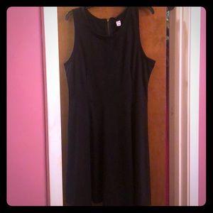 Little black dress sleeveless and zippered back